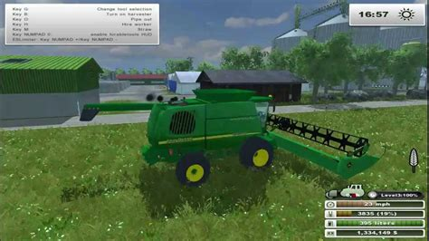 mod save game farming simulator 2013 farming simulator 2013 john deere 9750 sts combines mod