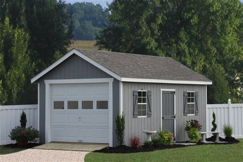 1 car garage add on garage plans 12x20 classic one car garage