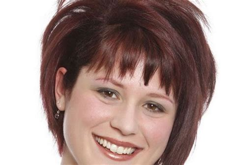 hairstyles for round face overweight short hairstyles for overweight women