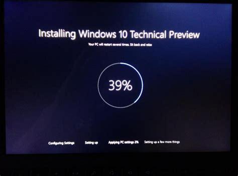 install windows 10 education new windows 10 installation screen leaks and education sku