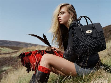 Mulberrys From 2007 Available Now by Mulberry X Cara Delevingne New Collection Honeycombers