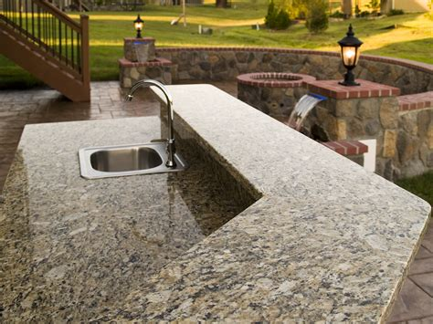Deck Countertop by Sted Concrete And Hardscape Pictures Built By All