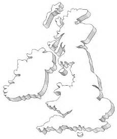 Simple Uk Outline by Free Coloring Pages Of United Kingdom Outline