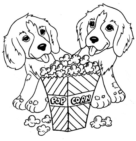 dog coloring page animals town free dog color sheet