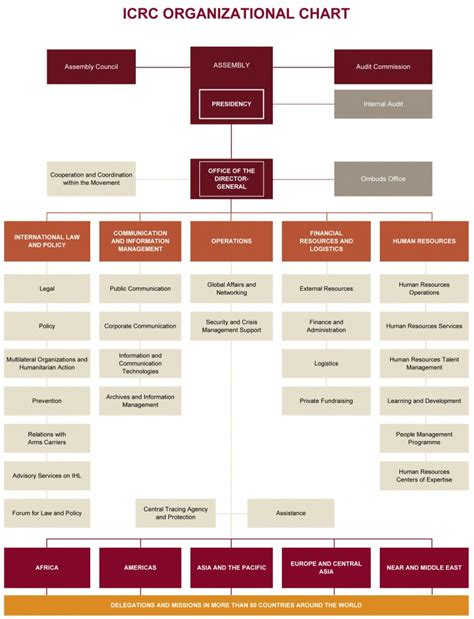 Global Money Transfer by Icrc Organizational Chart International Committee Of The
