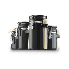 Black Kitchen Canisters Helium Canister Black Kitchen Canister