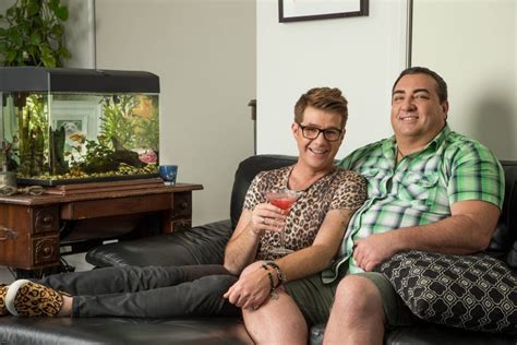 lesbian on the couch on the couch with gogglebox s tom and wayne outinperth