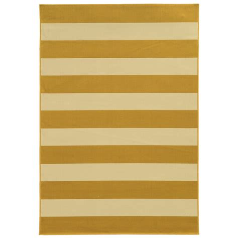City Furniture Riviera Yellow Indoor Outdoor 5x8 Area Rug 5x8 Indoor Outdoor Rug