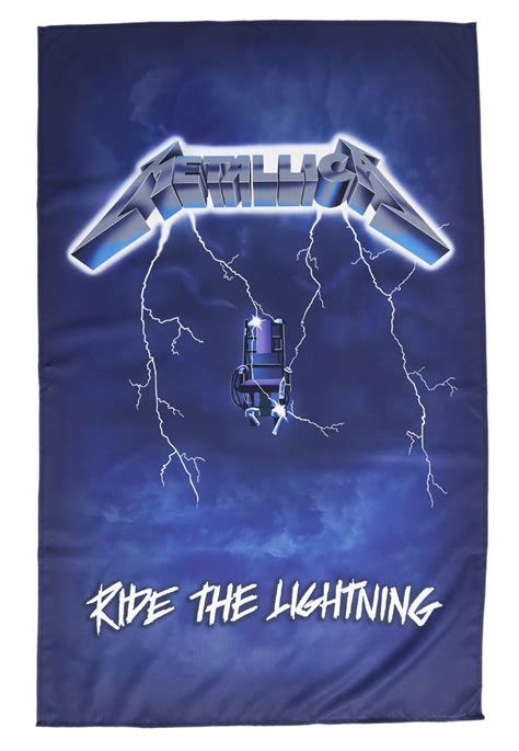 metallica ride the lightning shoes metallica ride the lightning flag official classic