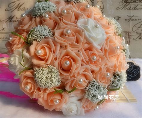 Discount Bridal Bouquets by Wholesale Silk Wedding Bouquets Wholesale Luyue