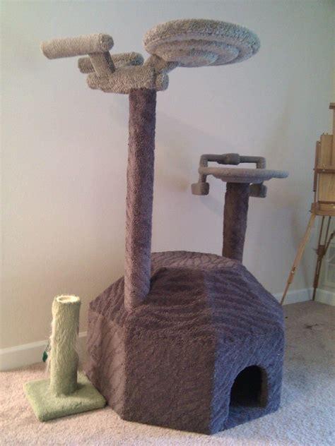 Condo Building Plans by Star Trek Cat Tree For Trekkies With Cats Bit Rebels