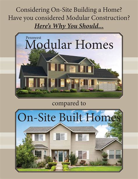 modular vs stick built buffalo modular homes