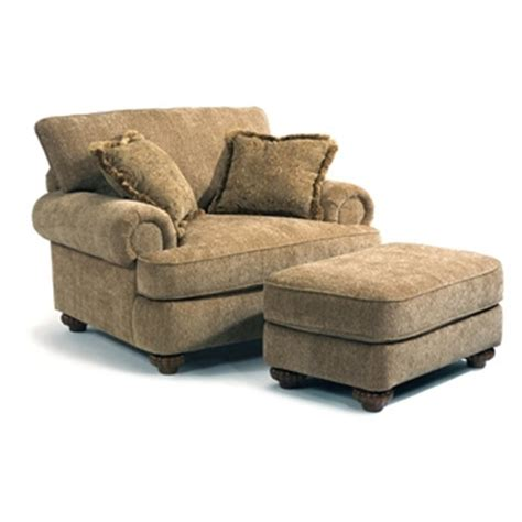 Sofa Chair And Ottoman Patterson Fabric Chair Ottoman Eaton Hometowne Furniture Eaton And Greater Dayton Ohio