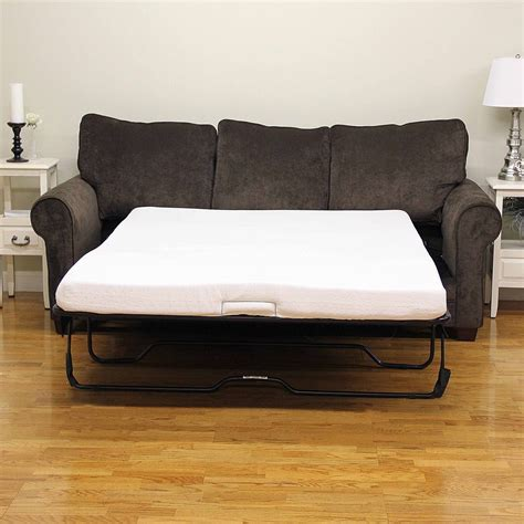 Sleeper Ottoman With Memory Foam Mattress Best Memory Foam Mattress For Sofa Bed Infosofa Co