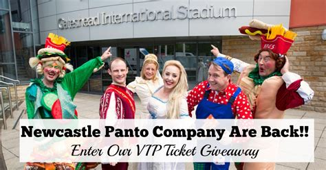 Vip Ticket Giveaway Company - newcastle panto company are back new venue and vip ticket giveaway north east