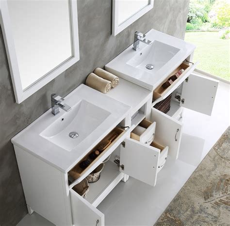 white bathroom vanity bathroom traditional with double cambridge 72 inch white finish double sink traditional