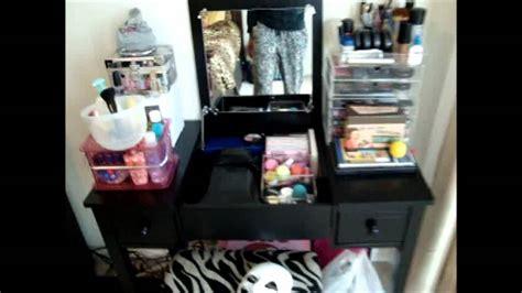 Makeup And Vanity Set Tour Vanity Tour Makeup Collection 2012