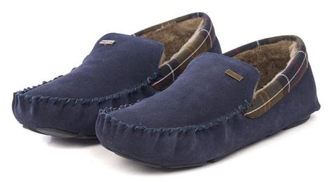 barbour mens slippers barbour mens monty slippers navy mfo0217ny52