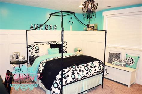 girls turquoise bedroom ideas turquoise and black girls bedroom wednesday design
