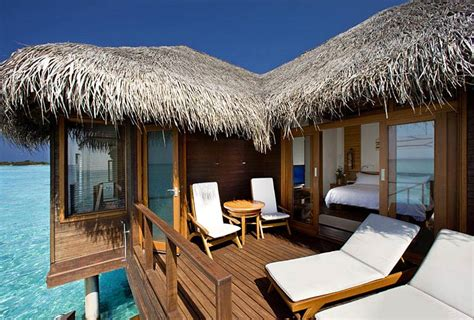 water bungalow in maldives sheraton maldives moon resort spa overwater bungalows