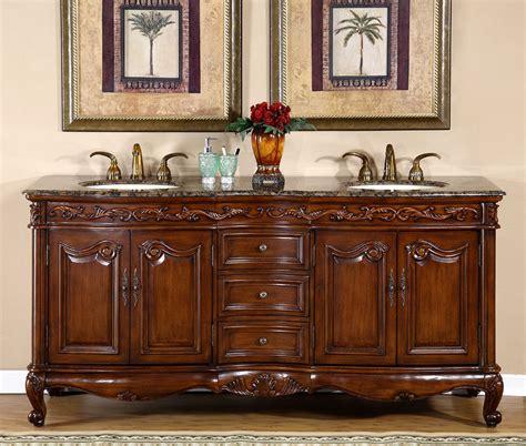 bathroom double sink vanity granite stone top lavatory cabinet bb ebay