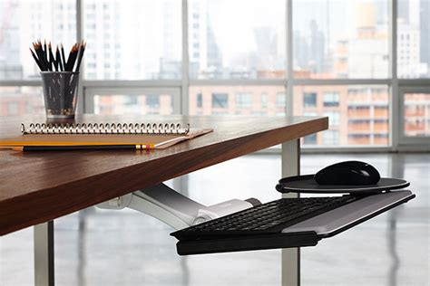Diy Keyboard Shelf by Humanscale Keyboard Tray System Product Review