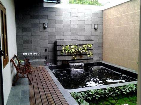 contoh desain lu hias contoh gambar kolam ikan minimalis kolam ikan koi kolam