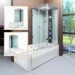 Badewanne Mit Dusche 3 by Acquavapore Dtp50 Ws Dusch Wannen Kombi In 180x90cm