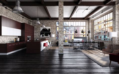 industrial interior design master the cool and edgy spirit of industrial interior design