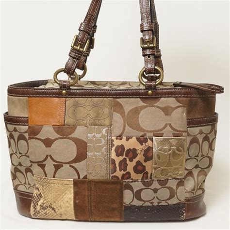 Coach Patchwork Bags - 84 coach handbags coach patchwork tote shoulder bag