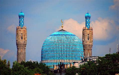 St Biru kubah biru st petersburg kontraktor kubah masjid dome