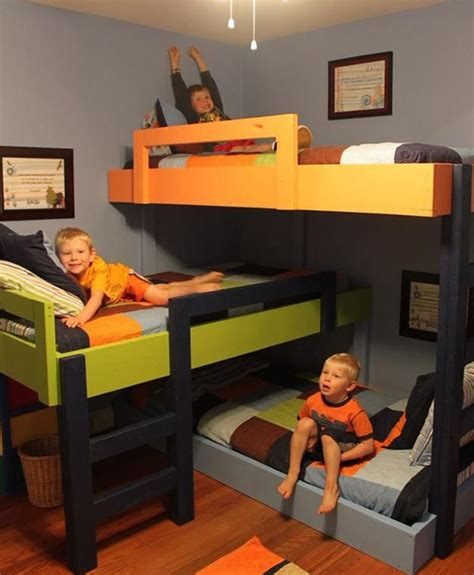 creative bunk beds fabulous kids bedroom designs