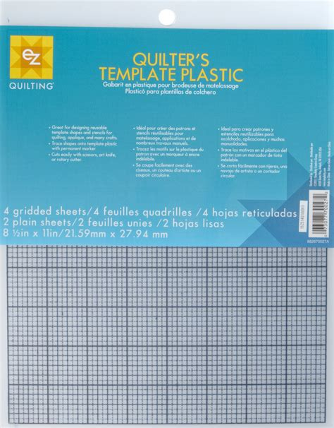 quilters template plastic quilter s plastic template 6 sheets