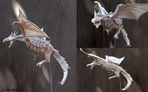 Origami Wyvern - 27 spectacular western style origami dragons