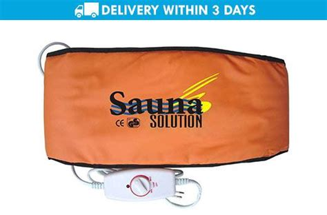Promo Sabuk Pemanas Belt Magnetic Sauna Belt 50 slimming sauna solution belt promo