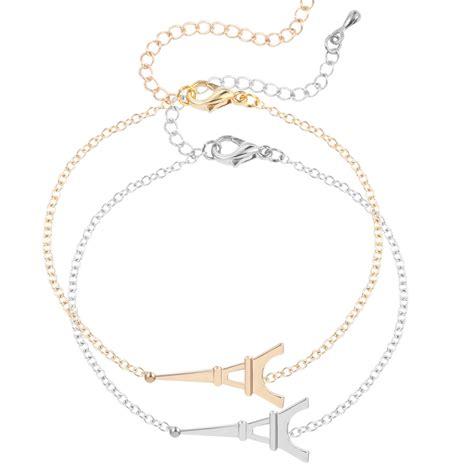 new arrival fashion eiffel tower bracelet bangle pendant