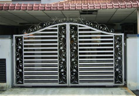 home gate design kerala home landscaping