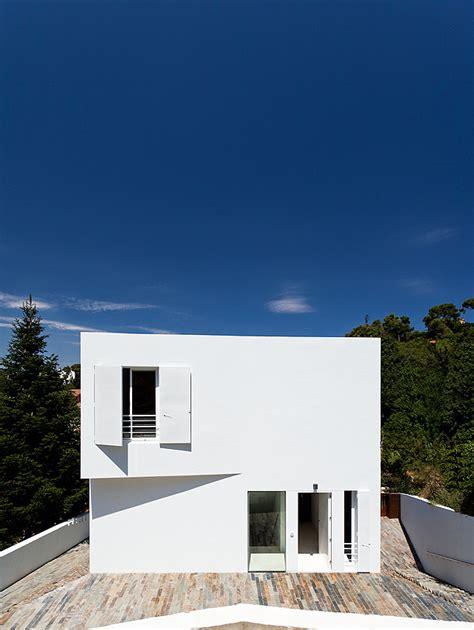 Loft House Plans Con Los Colores Y Texturas De La Sierra De Collserola Por