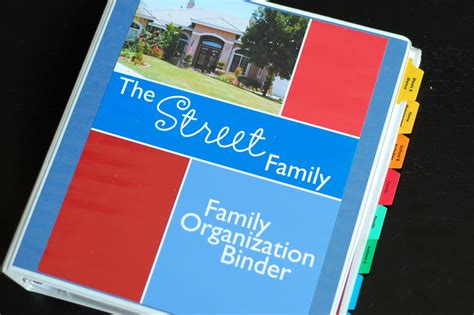 family organization family organizer binder just b cause