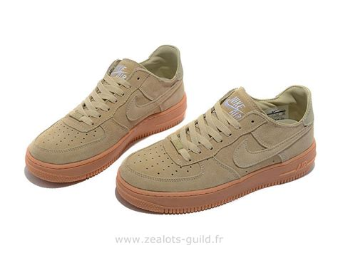 Nike Air One1 nike air 1 basse suede beige chaussure pour homme