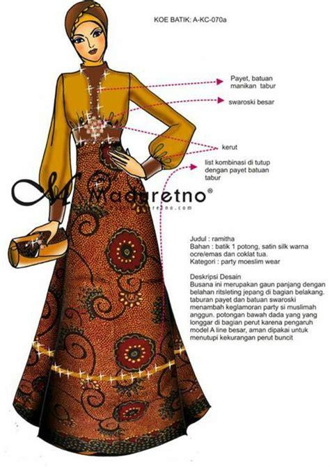 Bhatara Pola Bhatara Batik best 25 model dress batik ideas on falda
