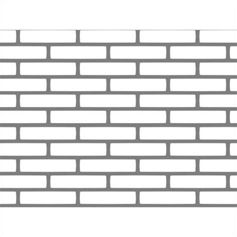 brick template tudor brick stretcher stencil tdb