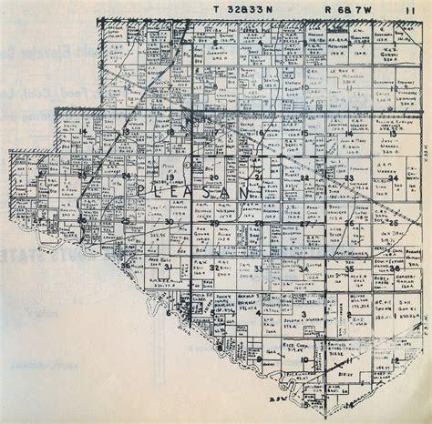 plat maps porter county indiana genweb township plat maps 1941