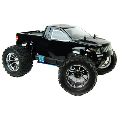 nitro trucks 1 10 4x4 bug crusher nitro remote truck 60mph black