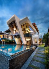 Modern House Architect | mercurio design lab create a modern villa in singapore