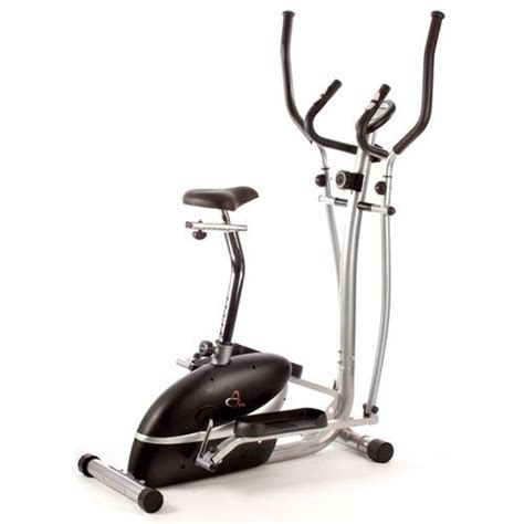 v fit mcct1 magnetic 2 in 1 cycle elliptical trainer