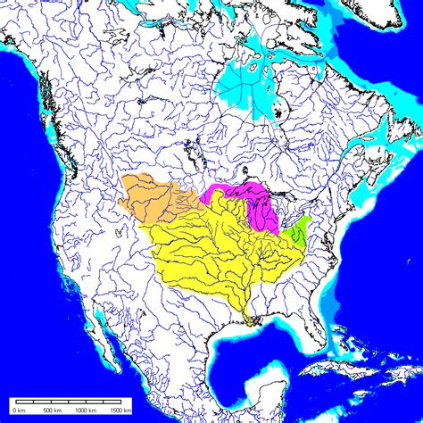 world river systems map what if the ages had been a less icy