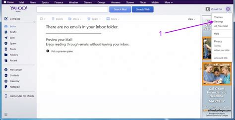 yahoo email email settings yahoo set up 171 professional email address