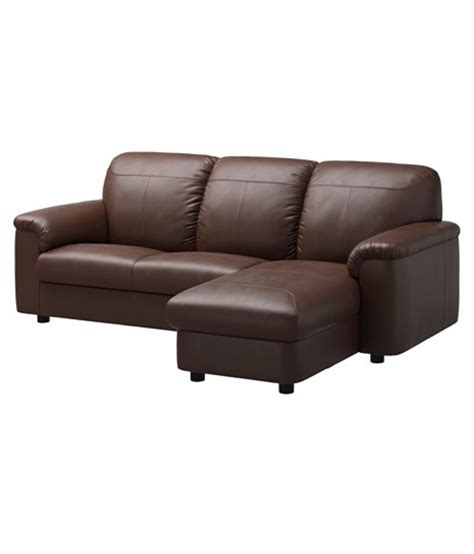 2 Seater Sofa With Left Chaise Lounge Brown Buy 2