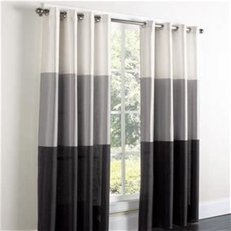 gray and black curtains white grey black curtains bedroom decor pinterest